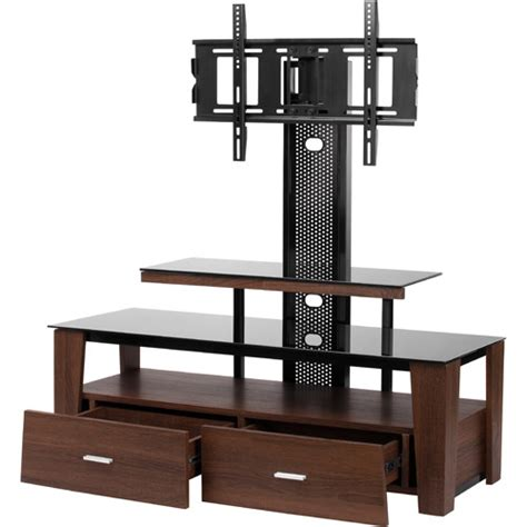 tv stands with mount vidao fl6850s 63 quot tv stand with mount and drawers