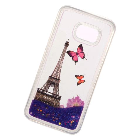 Hardcase Sparkle Glitter Water for samsung galaxy s7 liquid moving glitter water design cover