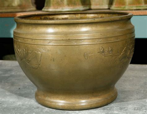 Antique Brass Planter by Antique Brass Planter At 1stdibs