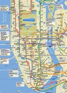Subway Map Pdf by Manhattan Subway Map Printable Images