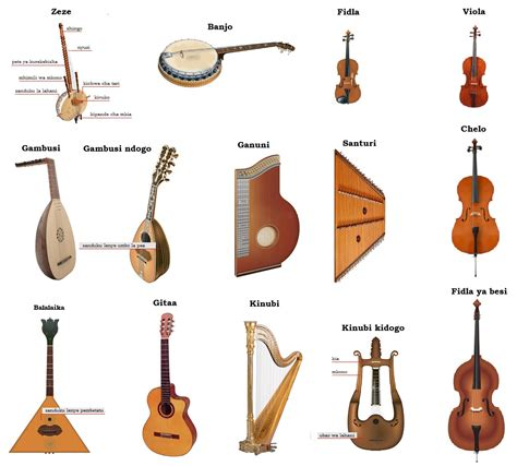 String Name - musical instruments that bring pleasurable feelings to the