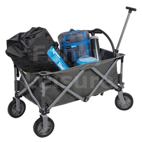 kampa trucker folding festival trolley