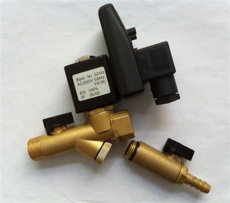 Solenoid Timer 12 opt b brass timer air compressor conditioner drain