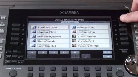 Keyboard Yamaha Psr S770 Baru psr s970 s770 micin vocal harmony