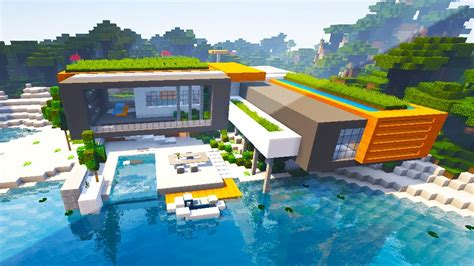 minecraft beach house minecraft modern beach houses animehana com