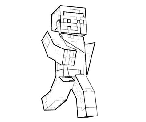 minecraft santa coloring page dbz vegeta coloring pages 500200