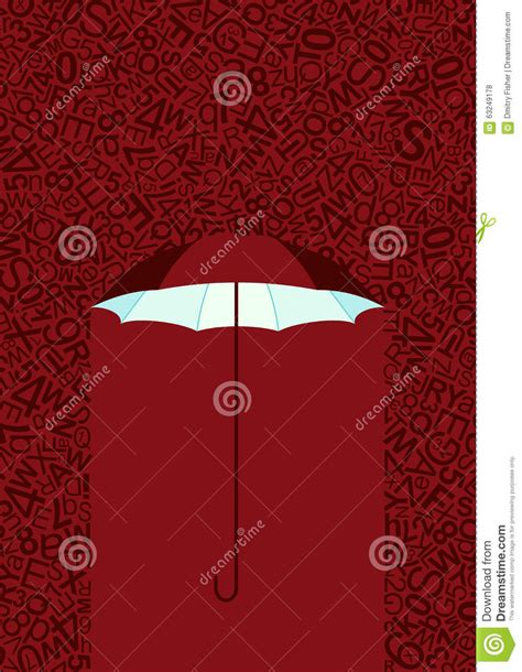 raining text stock vector image 63249178