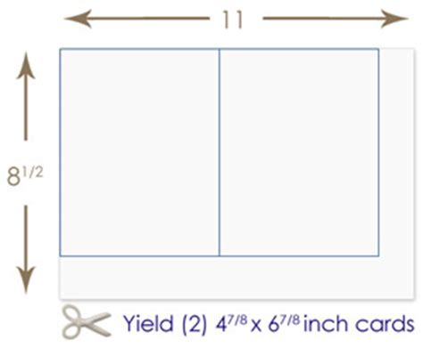 Note Card Template Paper Size by Make Your Own Stacked Pocket Card Inviation