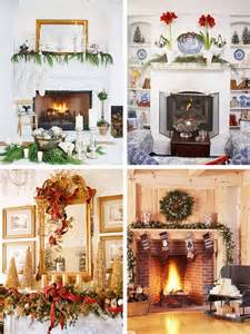 Decorate Your Mantel For Christmas - mantel christmas decorating ideas