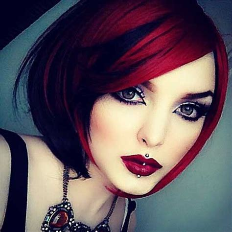 hairstyles red and black hair 35 new hair color for short hair short hairstyles