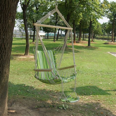 garden hammock swing ipree outdoor canvas swing hammock tempo libero sedia a