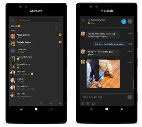 www skype for mobile microsoft releases new skype preview app in windows 10