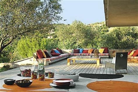 terrazze arredate lavanda terrazze