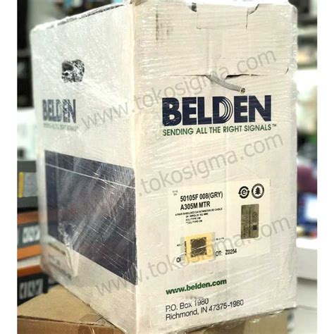 Belden Cat5e Original kabel lan belden stp cat 5e ori per roll toko sigma