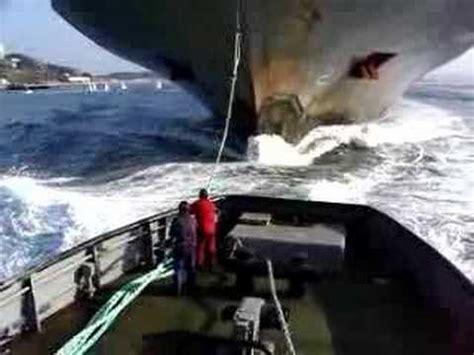 tugboat girting tug trhes part 2 youtube