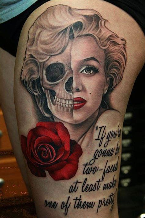 marilyn monroe quotes tattoos designs 30 marilyn tattoos amazing ideas