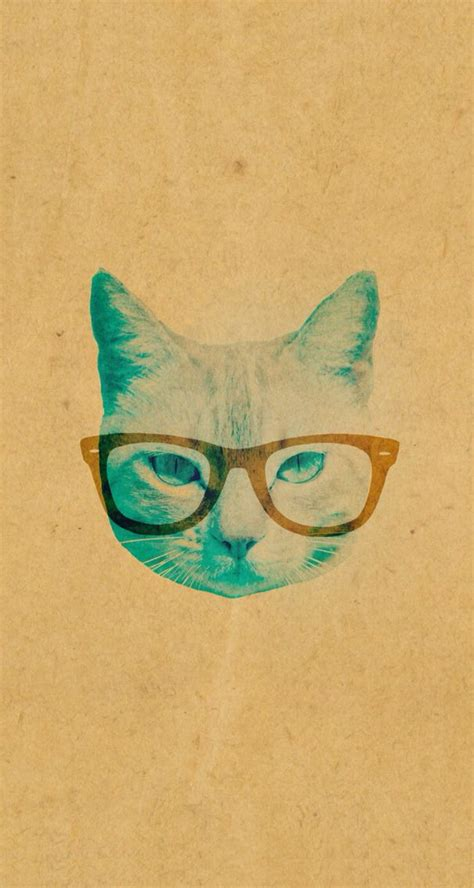 iphone wallpaper cat glasses vintage cat iphone 5 wallpaper iphone background