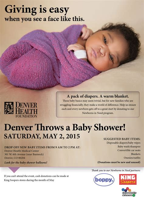 Who Throws The Baby Shower by Denver Health Foundation