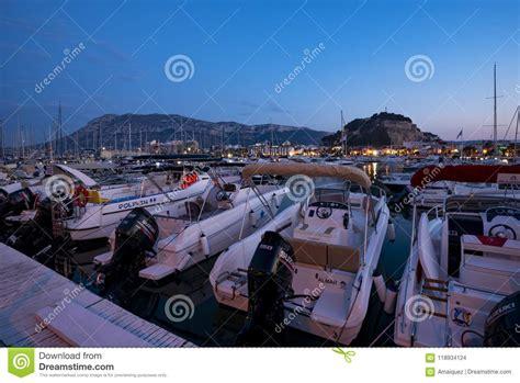 porto della spagna porto di denia alicante spagna immagine stock editoriale