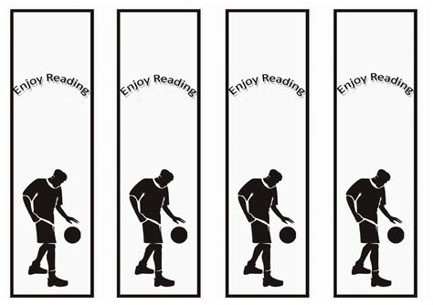 Printable Basketball Bookmarks | activity shelter