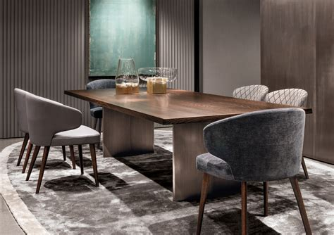 aston dining room and bar aston chair by minotti design rodolfo dordoni
