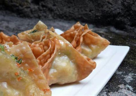 resep pangsit bakso goreng isi sayur oleh lieswa kitchen