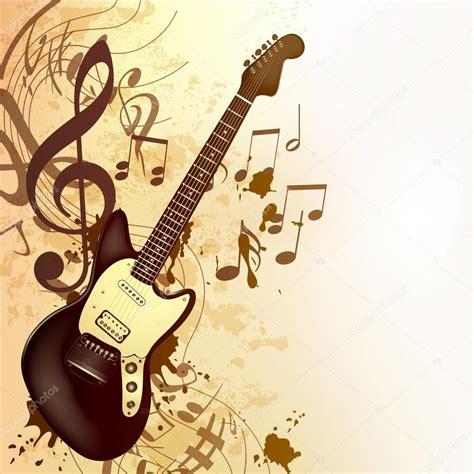 imagenes retro guitar pro fondo de m 250 sica de estilo vintage con notas y acordes