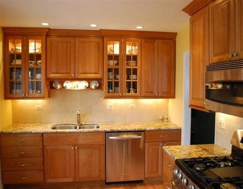 light kitchen countertops light cherry cabinets what color countertops well