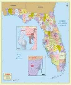 florida zip code map florida postal code