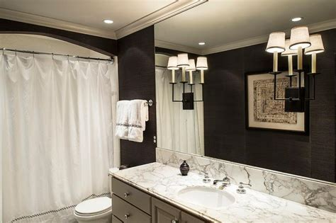 gray and black bathroom design contemporary bathroom