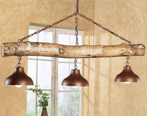 Rustic Light Fixture Ideas Aspen Log Three Bell Light Fixture Great Rustic Light Fixture Westernhome Western Style