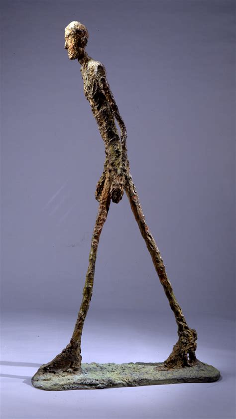 Sculpture L by Auctions Giacometti S Walking I Sculpture Sells At