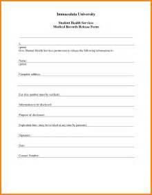7 blank medical records release form cio resumed