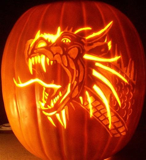 130 best images about halloween pumpkin carving template dragon by pumpkinsbylisa on deviantart