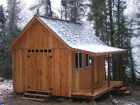micro cabins plans better barns cabin