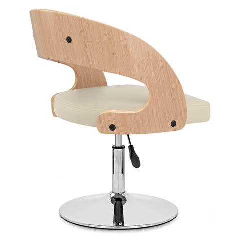 chaise bois et chrome monde du tabouret