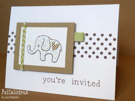 Baby Shower Handmade Invitations - bellalistona baby shower invitations