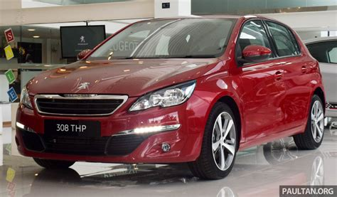 peugeot malaysia peugeot 308 thp active previewed estimated rm121k