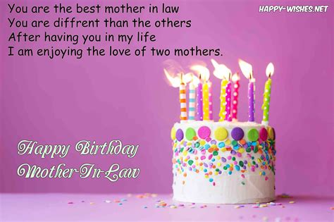 Happy Birthday Wishes In For Happy Birthday Wishes For Mother In Law Quotes And