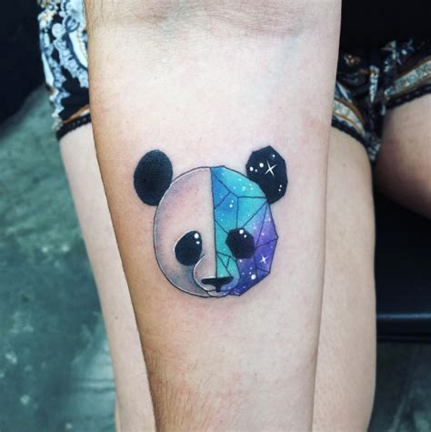 tattoo panda geometric 60 creative and cool cosmic tattoo designs tattooblend
