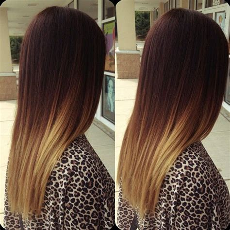 ombre hairstyles for long straight hair 60 awesome diy ombre hair color ideas for 2017
