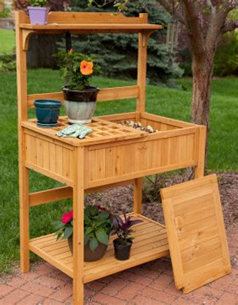 build your own potting bench wood pallet potting benches pallet ideas recycled