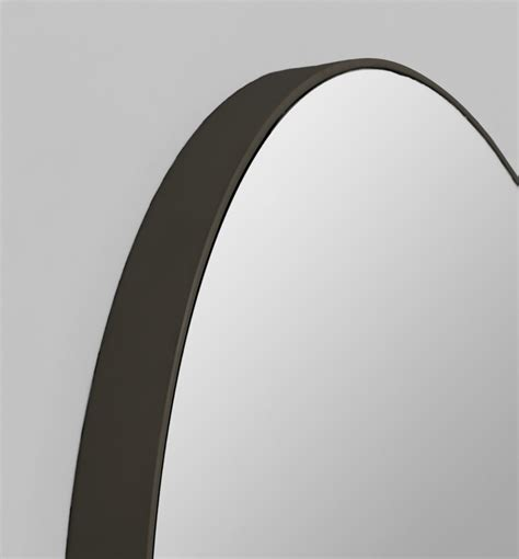 Black Oval Bathroom Mirror by Mirrors Astounding Oval Mirror Black Frame Black Framed