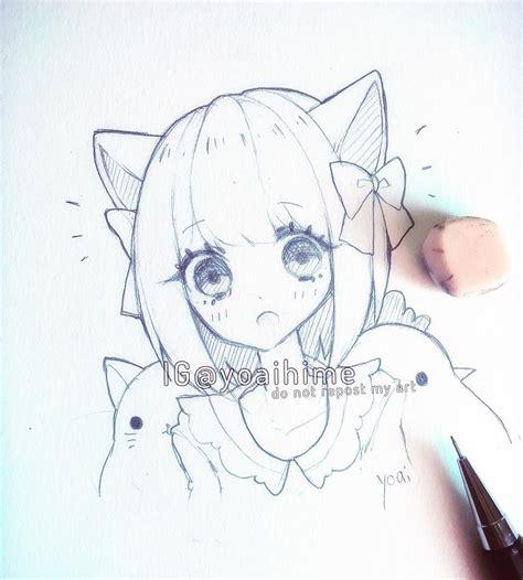 kawaii sketchbook 人 y o a i h i m e anime drawings and chibi