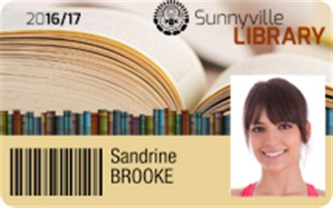 library id card template doc and personalize badge templates badgy