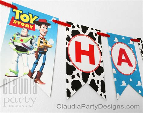 free printable toy story happy birthday banner toy story birthday banner toy story personalized banner