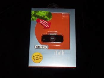 Review Griffin Italk Pro by Look Griffin S Italk Pro Apple Gazette