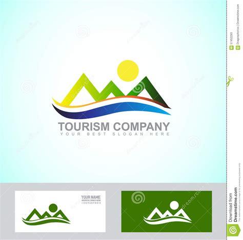Mountain Logo Stock Vector Illustration Of Card Illustration 57452293 Vector Company Logo Element Template
