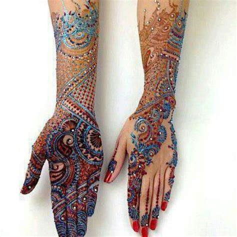 henna tattoos colors time i ve seen henna in color and it is gorgeous