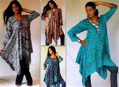 Seven Batik Top b598 blouse top shirt batik flattering fit s to 6x lotustraders made 2 orders ebay
